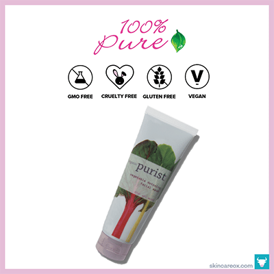 100% PURE: VEGETABLE FACIAL MASK
