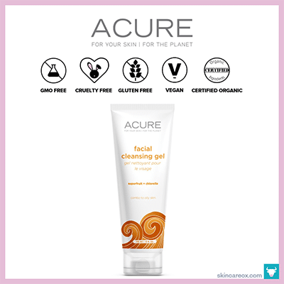 ACURE ORGANICS: FACIAL CLEANSING GEL