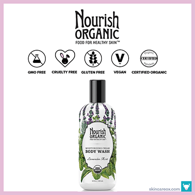NOURISH ORGANIC: MOISTURIZING CREAM ORGANIC BODY WASH