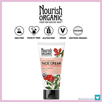 NOURISH ORGANIC: ULTRA-HYDRATING ORGANIC FACE CREAM