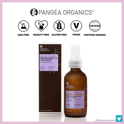 PANGEA ORGANICS: FRENCH ROSEMARY W/ SWEET ORANGE FACIAL TONER