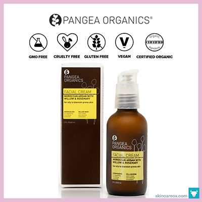PANGEA ORGANICS: MOROCCAN ARGAN W/ WILLOW & ROSEMARY FACIAL CREAM