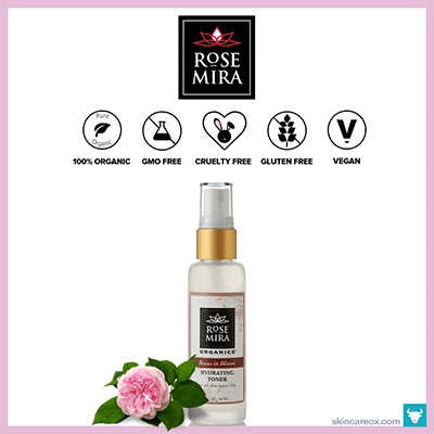 ROSE MIRA – ROSES IN BLOOM HYDRATING ORGANIC TONER