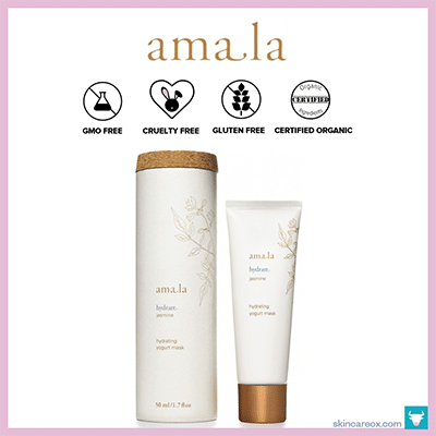 AMALA: HYDRATING YOGURT MASK $64 (1.7 OZ)