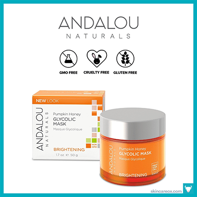 ANDALOU NATURALS: PUMPKIN HONEY GLYCOLIC MASK $15 (1.7 OZ)