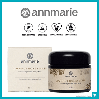 ANNMARIE: COCONUT HONEY ORGANIC FACE MASK $40 (1.6 oz)