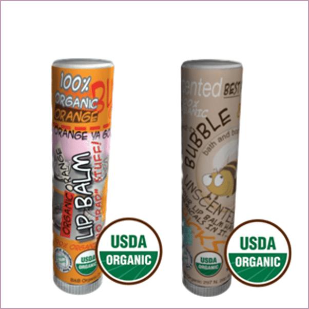 Bubble and Bee: Organic Lip Balms ($3)