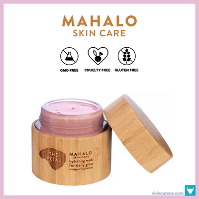 MAHALO: THE PETAL HYDRATING MASK $26 (1.7 oz)