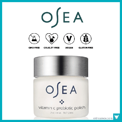 OSEA: VITAMIN C PROBIOTIC ORGANIC FACE POLISH $108 (2 oz)