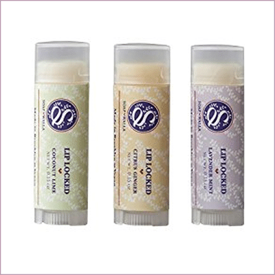 Lip Locked Lip Balm Trio ($28)