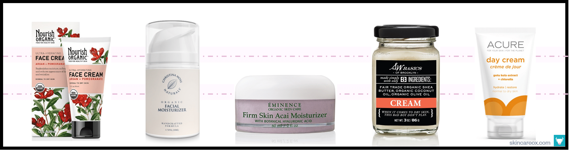 Best Organic Face Moisturizers: A Complete List for 2019