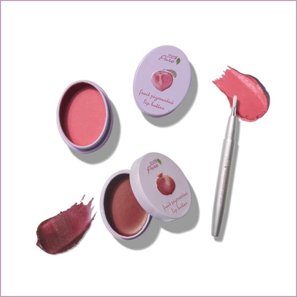 100% Pure: Fruit Pigmented Lip Balms ($15)