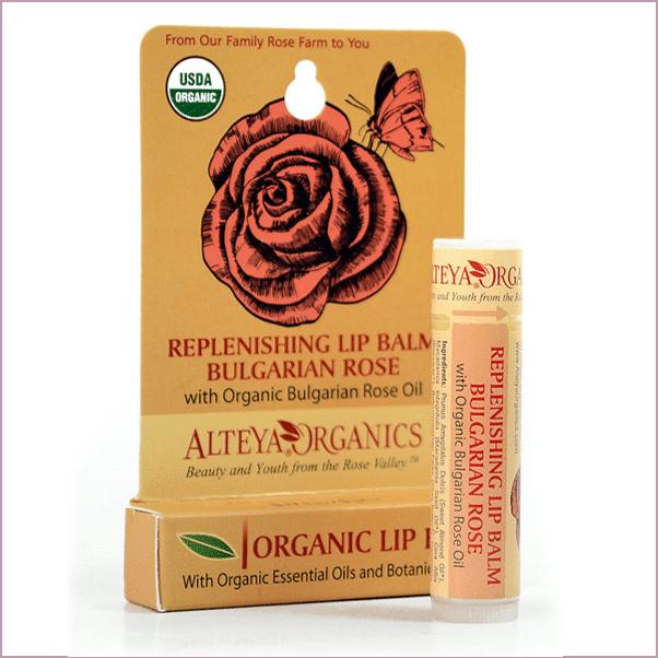 Alteya Organics: Bulgarian Rose Organic Lip Balm ($6)