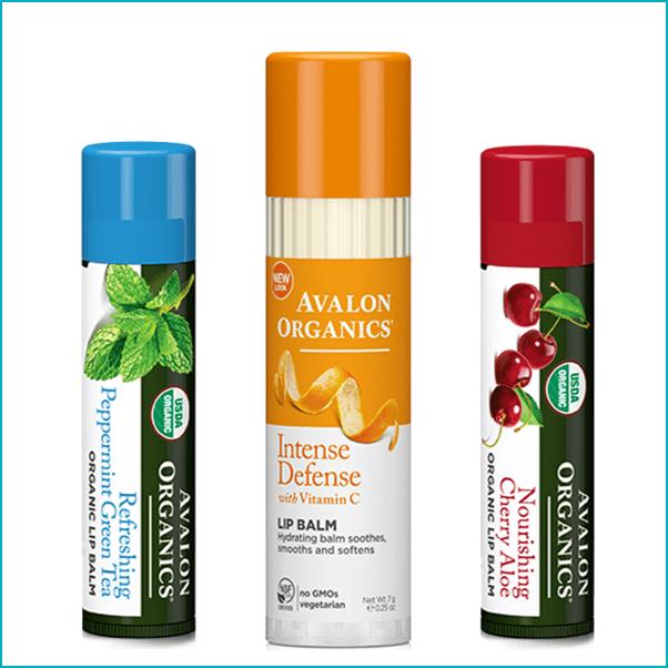 Avalon Organics: Certified Organic Lip Balm ($3-$5)