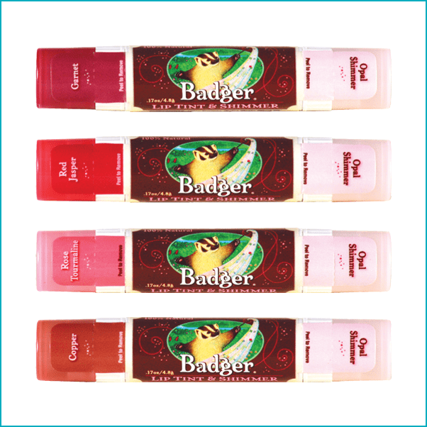 Badger Balm: Organic Tinted Lip Balms ($6)