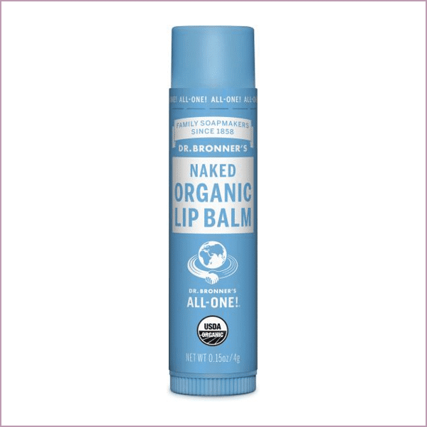 DR. BRONNER'S NAKED LIP BALM ($3)