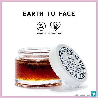 EARTH TU FACE: HONEY + COCONUT MASK $52 (2 oz)