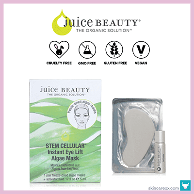 JUICE BEAUTY: STEM CELLULAR INSTANT EYE LIFT MASK $10 (1 pair)