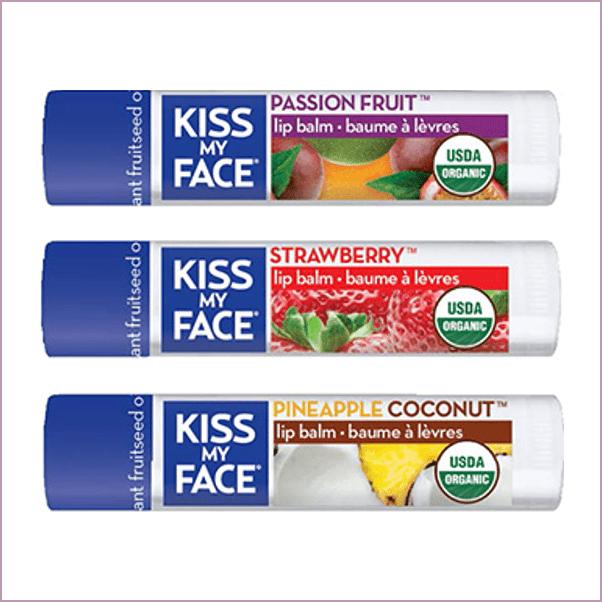 KISS MY FACE: ORGANIC LIP BALMS ($4)