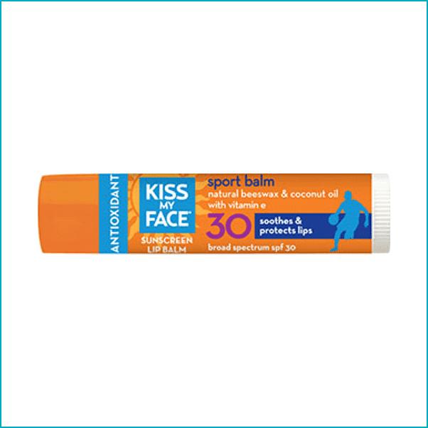 Kiss My Face: SPF 30 Sport Lip Balm ($3)