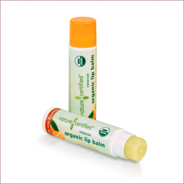 Nature Certified: Organic Lip Balm ($5)