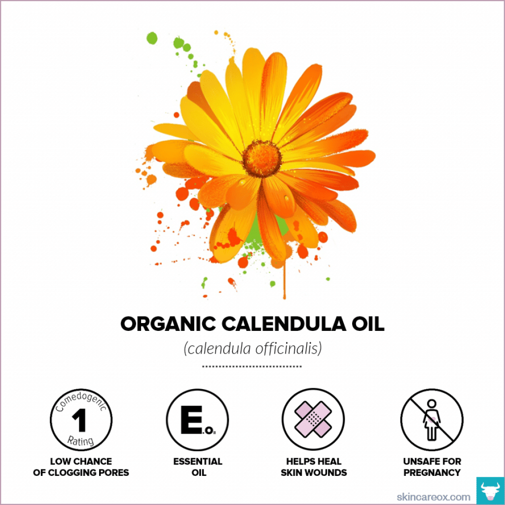 Organic Calendula Oil for Skin Care - Skin Care Ox