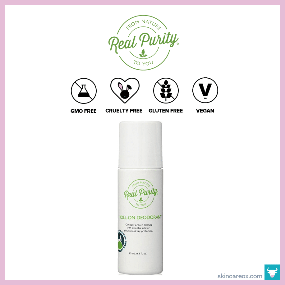 Real Purity – Roll-On Natural Deodorant ($17)