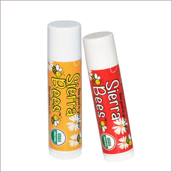 Sierra Bees: Organic Lip Balms ($1)