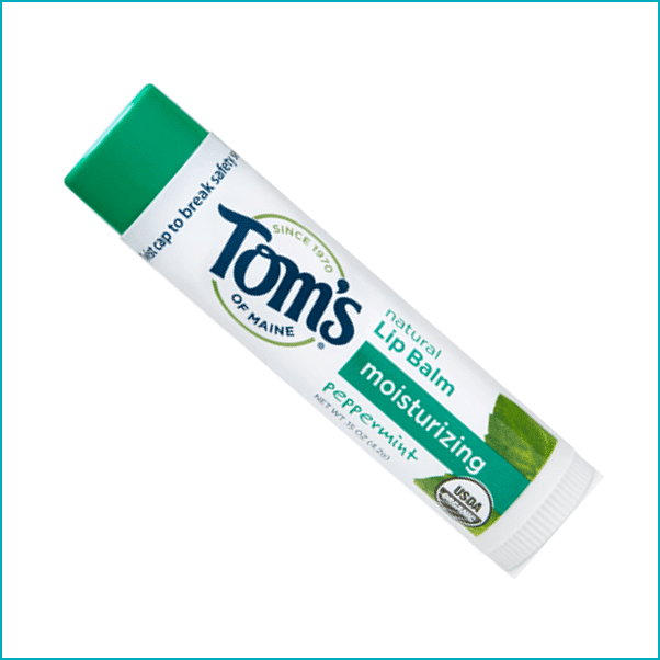 Toms of Maine: Organic Peppermint Lip Balm ($3)