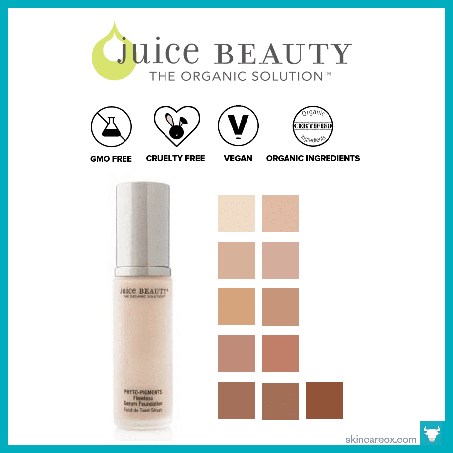 Juice Beauty – Phyto-Pigments Flawless Serum Foundation ($44)