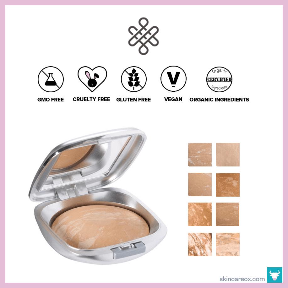Omiana – Adaptive Pressed Powder Organic Foundation ($48)